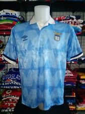 maglia calcio S.S. LAZIO football shirt Trikot maillot camiseta vintage 1989-91