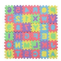 1 Set 36pcs Alphabet Letters Numbers Puzzle Foam Play Mats For Children Kids wea