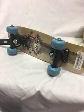 Rude Boyz 17 Inch Mini Wooden Cruiser Graphic Beginner Skateboard