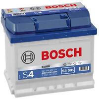 BATTERIA BOSCH S4 12V 44 AH 440 A (EN) POSITIVO A DX S4001 BASSA 207X175X175