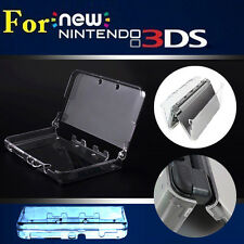 Clear Crystal Hard PC Shell Case Full Protective Skin Cover for New Nintendo 3DS