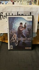 CIB RESIDENT EVIL 4 WII EDITION GAME NINTENDO WII VIDEO GAME >>REPLACEMENT CASE