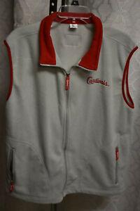 St Louis Cardinals SGA Fleece Vest Jacket 4/19/19 ADULT SIZED XL- New in Package