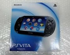 NEW PlayStation PS VITA Console Wi-Fi model Crystal Black PCH-1000 ZA01