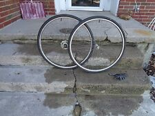 "POST WAR 1952 STURMEY ARCHER GENERATOR ""DYNO HUB"" 3 SPD WHEEL-SET NICE BARN FIND"
