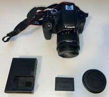 Canon EOS Rebel T7i 24.2MP DSLR w/ EF-S 18-55mm f4 IS STM Lens