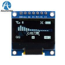 """White 3-5V 0.96"""" SPI Serial 128X64 OLED LCD LED Display Module for Arduino"""