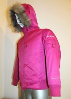 Youth Kids COLUMBIA Ski Jacket Hooded OMNI SHIELD Pink ISOLATE Girls 10/12 Years