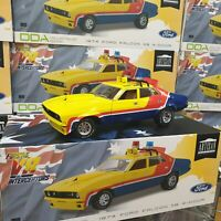 1:18 Yellow Police MFP Ford XB Falcon 1st of the V8 Interceptors Mad Max Model