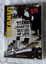 TITANIC THE STORY (DVD) REGION-ALL, VERY GOOD, FREE POST WITHIN AUSTRALIA