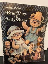 BEAR HUGS & JELLY BEANS  BY JO SONJA  GRANDMA PAINTS