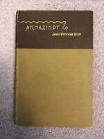 James Whitcomb Riley ARMAZINDY - 1st ed. (1894) in RARE BROWN VARIANT BINDING