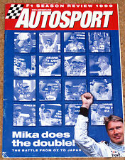 Autosport 1999 F1 REVIEW - Top 10 Drivers, Damon Hill, Teams & Drivers