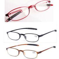 New Reading Glasses Oval TR90 Frame Reader Eyeglass 1.0 1.5 2.0 2.5 3.0 3.5 4.0