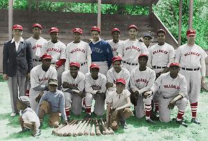 Hillsdale Daisies 1940 - Negro League, 7x10 Color Photo