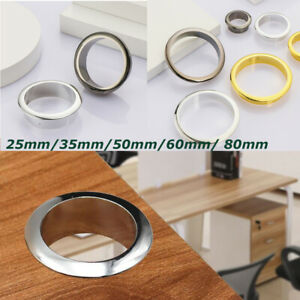 Organizer Wire Hole Cover Computer Grommet Line Box Desk Table Cable Fastener