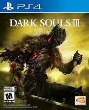 PLAYSTATION 4 PS4 GAME DARK SOULS III 3 BRAND NEW AND SEALED