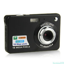 2.7''TFT 720P HD 18MP Camera Camcorder 8x Digital Zoom Anti-shake Effect Utensil