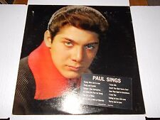 PAUL ANKA Young, Alive and In Love RCA LP LPM-2502 '62 OG Pop Rock