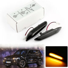 2X Sequential LED side Marker indicator turn signal Light for BMW X3 E83
