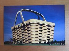 "Longaberger Dresden Ohio ""The Big Basket - Home Office"" Postcard - USA!"