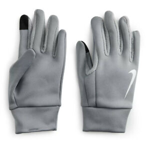 Mens NIKE Thermal Gloves M L XL Athletic Running Touchscreen Therma-Fit