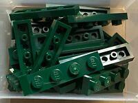 4x Plaque Plate 1x4 4x1 vert//green 3710 NEUF Lego
