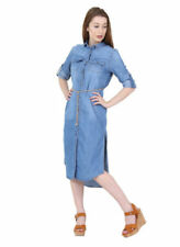 Midi Casual Dresses for Women with Belt