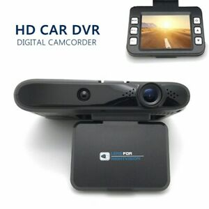 "Dash Cam 720P Car DVR Dashboard Camera Full HD with 2"" LCD Screen 120°Wide Angle"