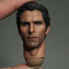 Custom 1/6 Scale Christian Bale Bruce Head Sculpt Fit hot toys body batman