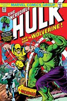 INCREDIBLE HULK #181 FACSIMILE EDITION MARVEL COMICS FIRST APPERANCE WOLVERINE
