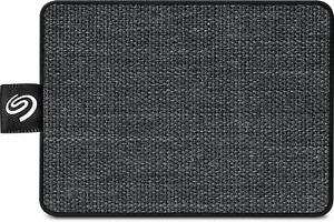 Seagate 500GB One Touch Portable SSD - Black - AU