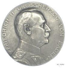 Baden 1910 Silbermedaille Schützenmedaille 14. Verbandsschiessen