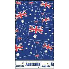 AUSTRALIAN TABLE COVER CLOTH PLASTIC PARTY DECORATION & FLAG STICKERS AUSTRALIA