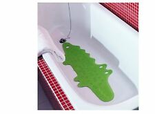 Ikea PATRULL Non-Slip Bathtub Bath Mat Kids Bathmat Shower Mat Crocodile Green