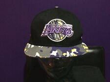 New Era NBA LA Lakers Snapback and Strapback Purple Grey Yellow Camo Basketball
