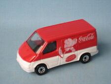 Matchbox Ford Transit Van Roja Coca-cola Coke Juguete Modelo van Hockey Ub