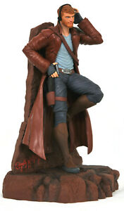 """GUARDIANS OF THE GALAXY ~ Star-Lord 9"""" Comic Marvel Gallery PVC Diorama Statue"""