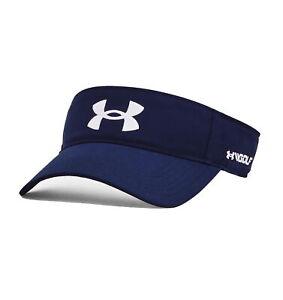 Under Armour UA Golf96 Visor Adjustable Golf Cap - New 2021 - Academy/White