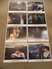 """NO MAN'S LAND(1987)CHARLIE SHEEN ORIGINAL SET OF 8 DIFF 11""""BY14""""  LOBBY CARDS"""