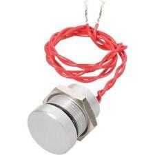 APEM PBAR2AF6000 22mm IP69K Vandal résistant PIEZO Interrupteur SPST