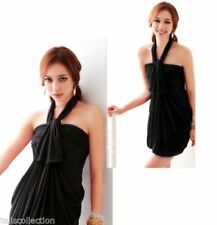 Unbranded Clubwear Halter Sleeve Dresses for Women
