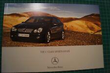 Mercedes-Benz C-Class Sports Coupe Brochure 12/2006