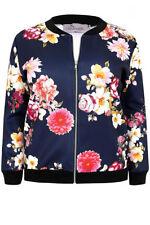 Viscose Machine Washable Floral Coats & Jackets for Women
