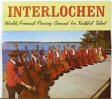 1967-68 Interlocken Michigan Music Camp Arts Academy vintage info brochure