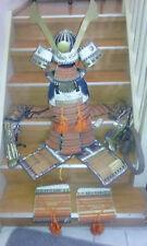Ancient Samurai Battle Armor with Battle Bloodstains