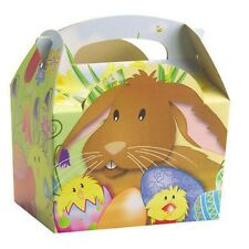 24 desfile De Pascua cacería de huevos bolsa de harina de conejo pollito llevar cajas ~ Niños Fiesta caja de alimentos