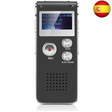 Grabadora de Voz Digital Multifuncional Portátil Recaegable USB con Reproductor