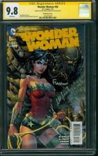 Wonder Woman 36 CGC 2X SS 9.8 David Meredith Finch Variant Justice League Movie