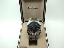 RARE Vintage early Seiko Navigator GMT 6117-6419 dainiseikosha